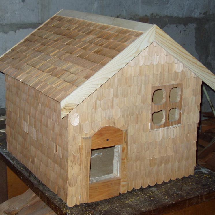 Теплый домик для уличных кошек своими руками