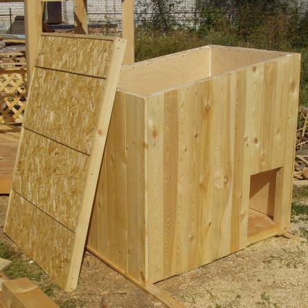 съемная крыша в будки для собаки