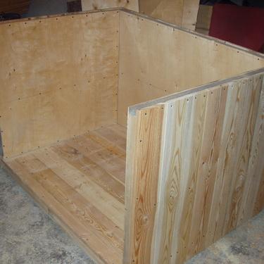 конструкция будки для собаки