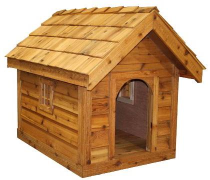будка для собаки красивая