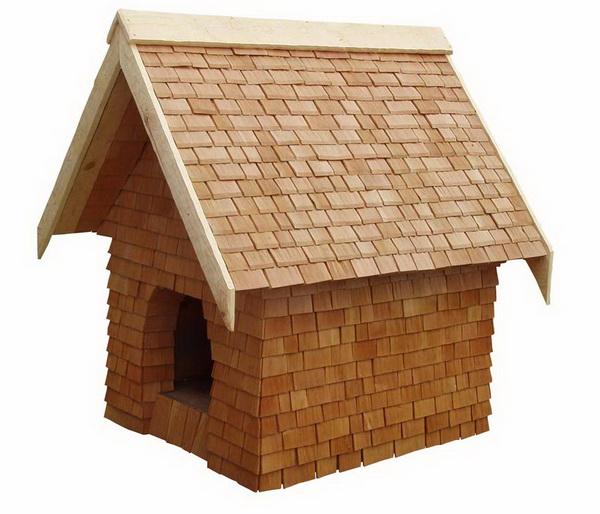 будка для собаки из шинделя