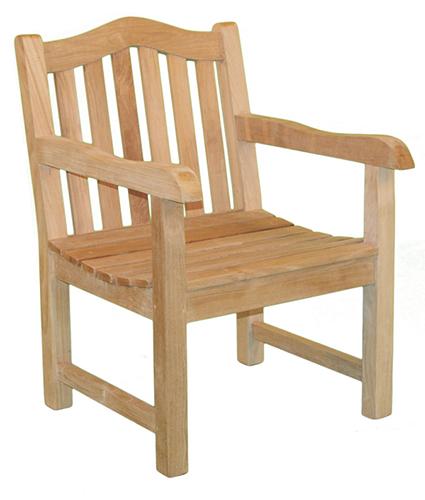 деревянный садовый стул