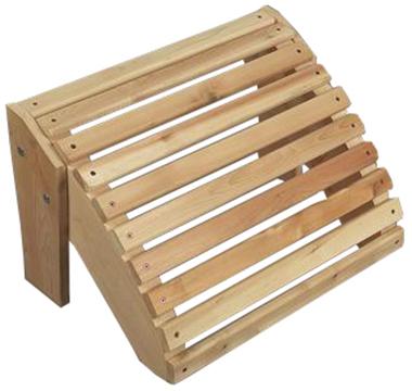 подставка для ног деревянная
