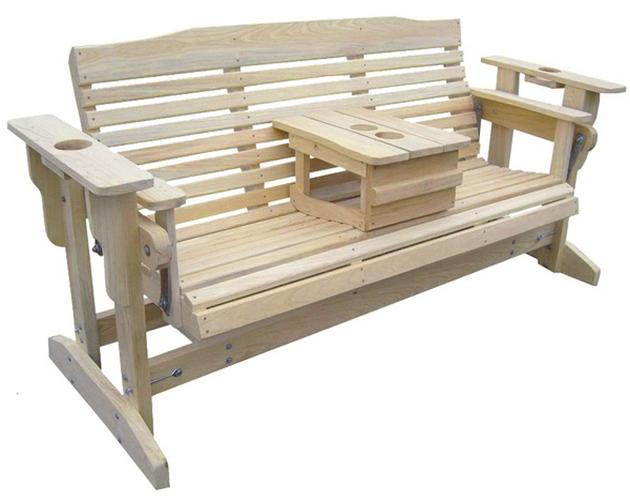 качающаяся скамейка