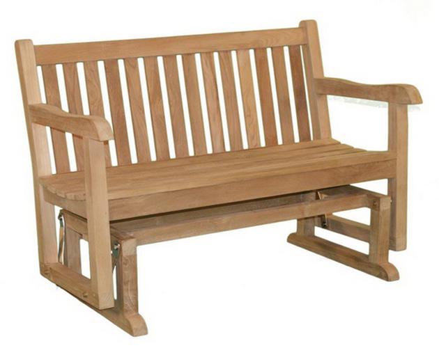 качающаяся скамейка деревянная
