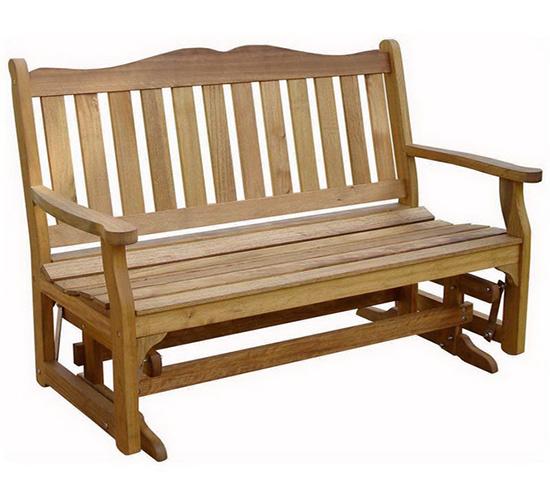 деревянная скамейка качалка