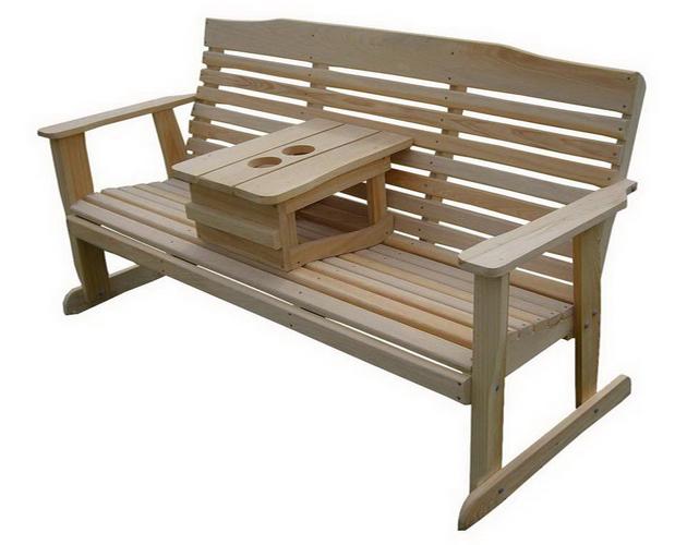 скамейка с подставкой