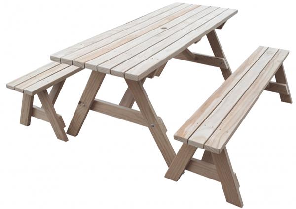 садовый стол и лавки